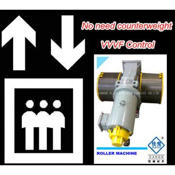 Machine de Traction GT120WL VVVF rouleau ascenseur