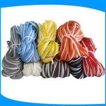 Tubería reflectante colorida para la unión reflectante del casquillo para la ropa