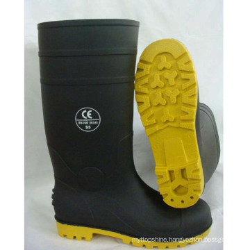 Good Quality China Factory Industrial PVC Rain Work Safety Boots
