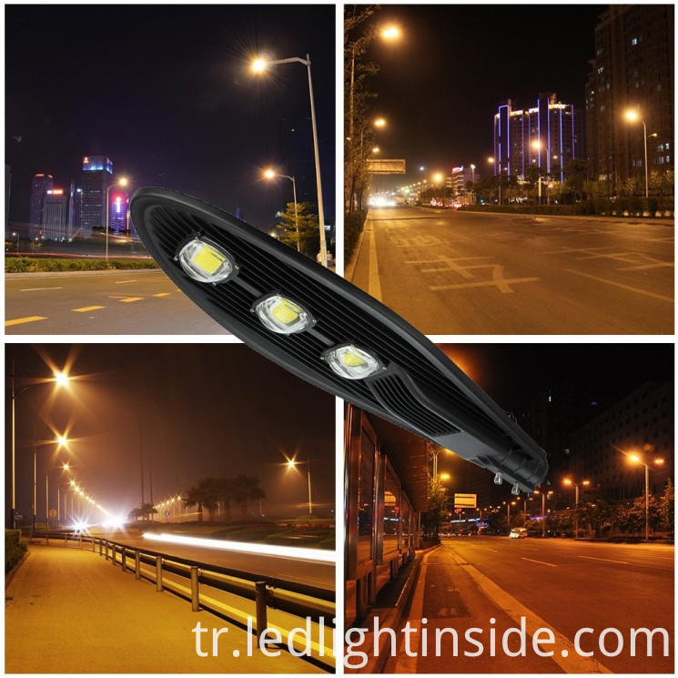 150W Solar COB LED Street Lights