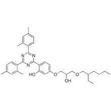 Phenol, 2-4,6-bis(2,4-dimethylphenyl)-1,3,5-triazin-2-yl-5-3-(2-ethylhexyl)oxy-2-hydroxypropoxy- CAS 137658-79-8