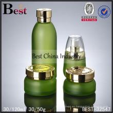 Tarro de cristal cosmético 30g 50g y pequeña orden de la botella