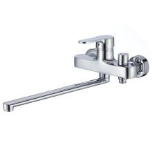 Bathroom design single zinc handle faucet wash basin mixer faucet