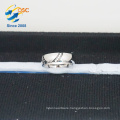 wholesale cadmium free men's jewelry blanks stainless steel engagement ring