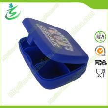 Boîte à pilules miniature en plastique avec 5 compartiments, boîte à pilules