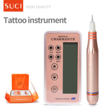 Charmant série de charment de pistolet de tatouage 2ème machine de tatouage de maquillage rose