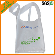 Reusable eco-friendly customized printed shoulder pp non-woven promotional bag