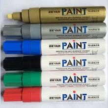 Marcador de tinta jumbo em 6 cores