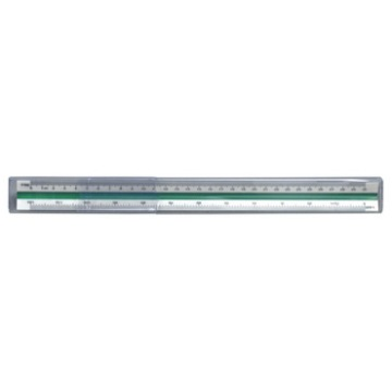 Economical three edges 30cm triangle scale ruler,plastic scale ruler,pvc box