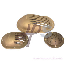 C83600 Bronze Water Intake Thru Hull with Strainer