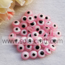 Factory Price Pink Bracelet Shamballa Oval Round Evil Eye Beads Curtain Crystal Bead