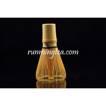 Alta qualidade 100 Prong Chasen Whisk Bambu Dourado