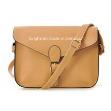Retro Style PU Leather Ladies Fashion Crossbody Bag (ZXS0055)