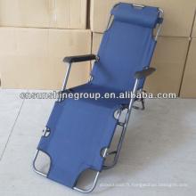 Zero Gravity inclinable chaise pliante