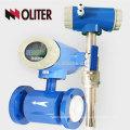 EMFM manufacturer anti-explosion waterproof battery power 18~36V intelligent conducting liquid delectromagnetic flow meter