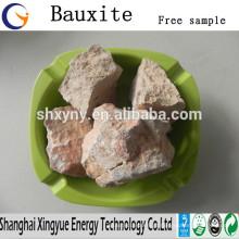 Preço refractário de bauxita calcinada a alta temperatura / forno de alta temperatura