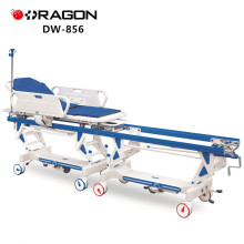 DW-856 Cheap Hospital Manual Patient Transfer Operation Connecting Trolley