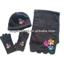 PT003 polar Fleece Hut Schal Handschuhe gesetzt