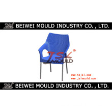 Metal Leg Plastic Rattan Chair Back Mold