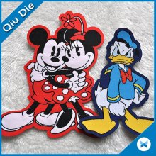 Cartoon Die Cutting Overlock Garment Label Mark pour vêtements pour enfants