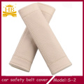 Fiber Leather Car Seat Belt Cover
