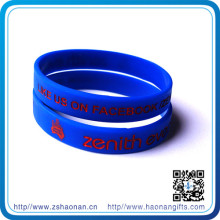 Custom Fashion Professional and Popular Silicone Wristbands for Gifts
