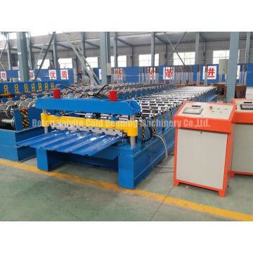 Automatic Trapezoidal Roofing Sheet Roll Forming Machine