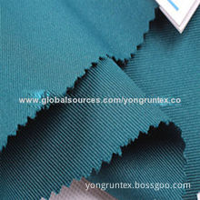 Workwear fabric, made of 100% polyester