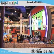 kundengebundenes farbenreiches P3.9 kommerzielles Werbung LED-Anzeigeschirmkabinett