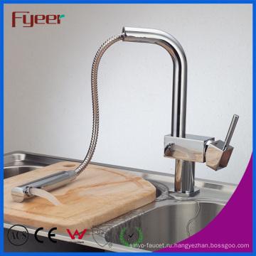 Fyeer СКП 61-9 кухонный кран с вытащить спрей