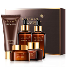 Skincare Products 5PCS Anti-Wrinkle Lotion Anti-Aging Facial Cream Caviar Skin Care Gift Skincare Set