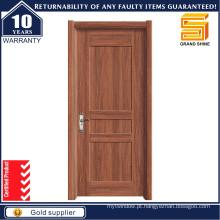 Atacado madeira sólida porta de madeira de madeira frontal da China