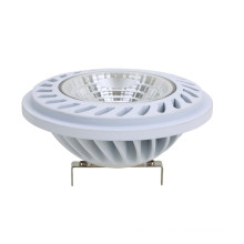 LED Spotlight AR111 COB 15W 1050lm G53 AC/DC12V White Housing