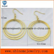 Jóias personalizadas de brinco jóias com corpo inox (ERS6922)