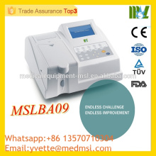 MSLBA09 Wholedsale Price Semiautomatic biochemistry analyzer made in China