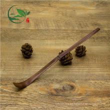 Cuchara de Matcha de bambú vieja hecha a mano respetuosa del medio ambiente de la venta CALIENTE
