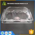 caixas de ovos de plástico transparente