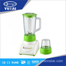 Four Speeds Plastic Blender with Grinder Chopper