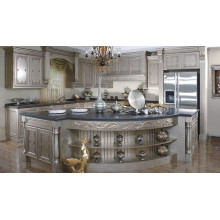 Cabinet de cuisine en bois massif ex en forme de U