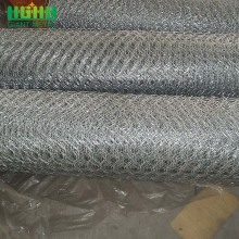 Galvanized Gabion Hexagonal Hole Bentuk Chicken Wire netting
