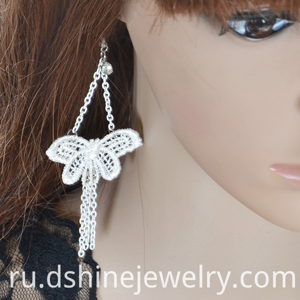 Butterfly Lace Earring