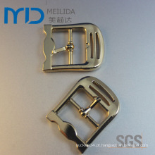 Custom Moda Zinco Alloy Gold Belt Pin Buckle