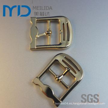 Hebilla hecha a medida del Pin del cinturón del oro plateado para el hombre