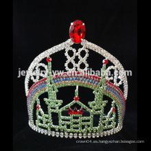 Shinning cristal nupcial de la boda tiara cabello accesorios corona de cabello