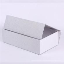 Boîte de papier de cadeau de floding cosmétique de feuille d'argent