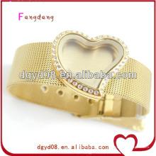 Bracelet flottant en or 18 carats pour femmes