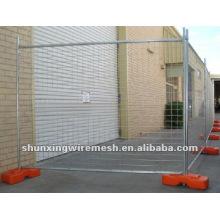 Clôture ou clôture mobile temporaire enrobée de poudre (fabricant)