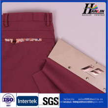 cotton spandex poplin fabric for women pants