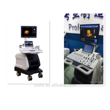 High end trolley type 4d color doppler with volume probe
