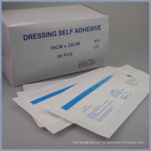 penso médico auto-adesivo descartável para feridas